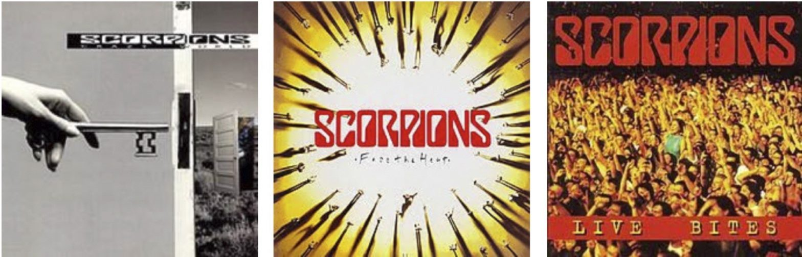 Scorpions -- Crazy World and Face The Heat and Live Bites Vinyl Reissues