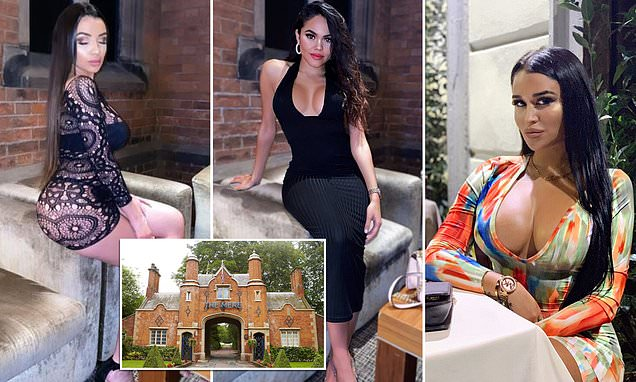 Manchester City stars fly 22 models to £150-a-night Cheshire hotel | Daily Mail Online