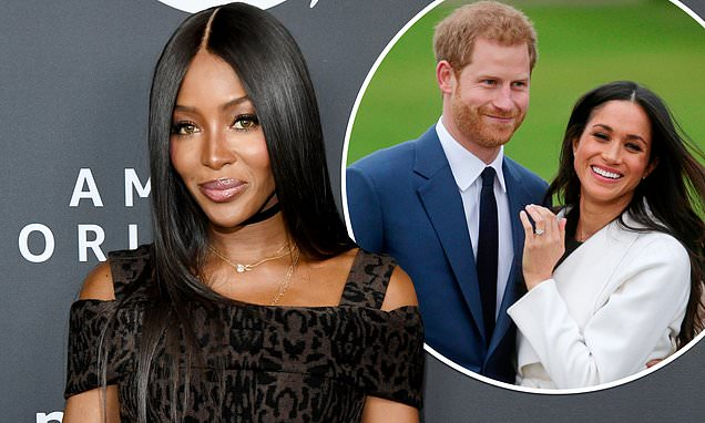 Naomi Campbell supports Meghan Markle and Prince Harry | Daily Mail Online