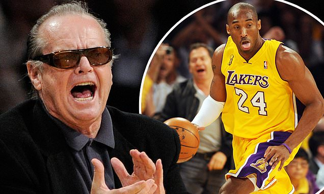 Jack Nicholson pays tribute to Kobe Bryant in rare interview | Daily Mail Online