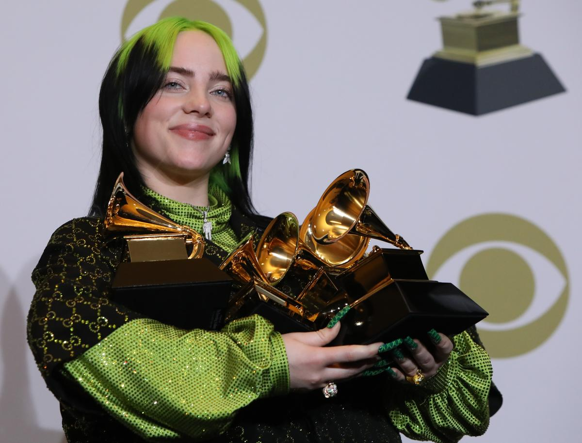 Billie Eilish sweeps Grammy Awards with top four prizes – Reuters