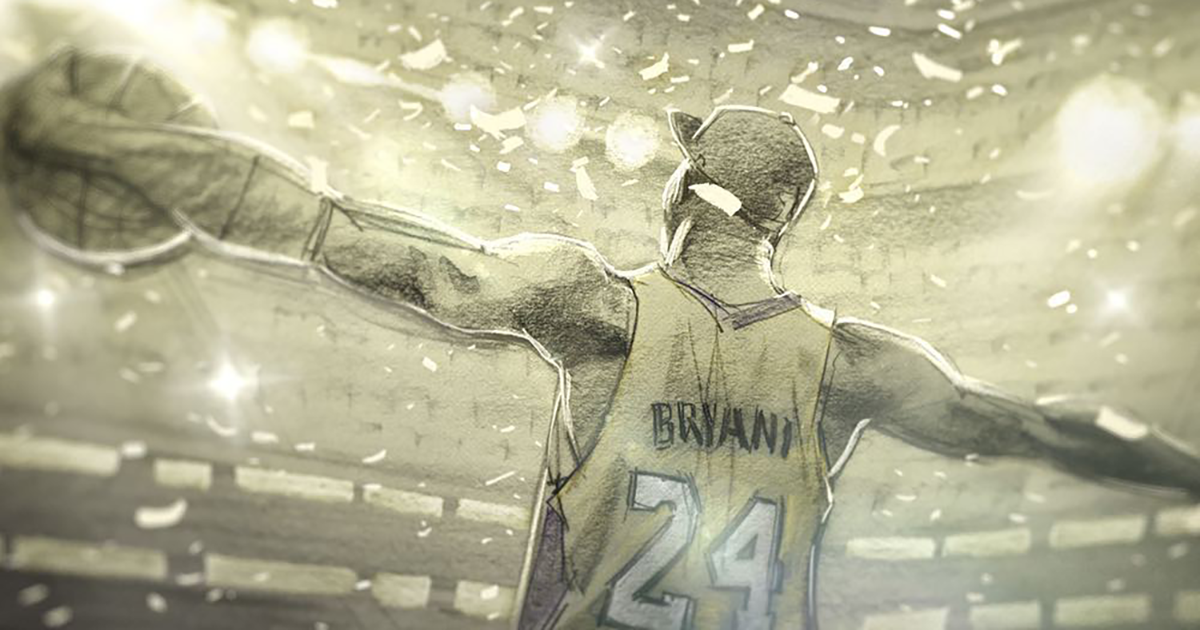 Fans Are Sharing Kobe Bryant's Moving Oscar-Winning Short Film 'Dear Basketball'