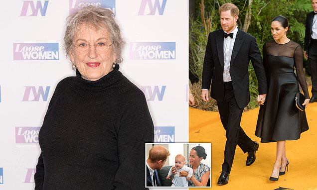 Germaine Greer launches a brutal attack on Prince Harry and Meghan Markle | Daily Mail Online
