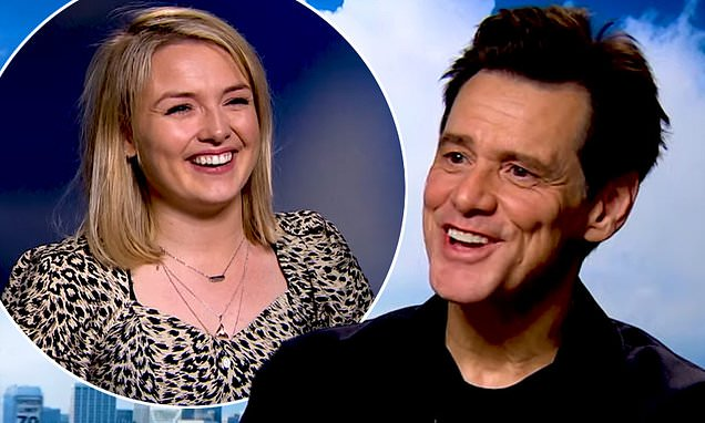 Jim Carrey is dubbed a 'sleazebag' after interview with female journalist | Daily Mail Online