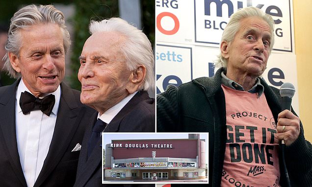 Kirk Douglas 'left entire $60million fortune to charity' | Daily Mail Online