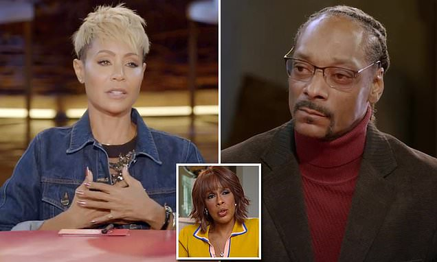 Jada Pinkett Smith confronts Snoop Dogg about his attack on Gayle King | Daily Mail Online