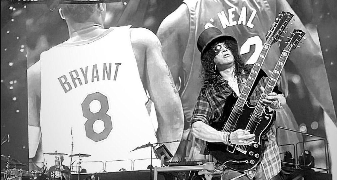 "Guns N' Roses dedicate ""Knockin' on Heaven's Door"" to Kobe Bryant at Super Bowl fest: Watch"