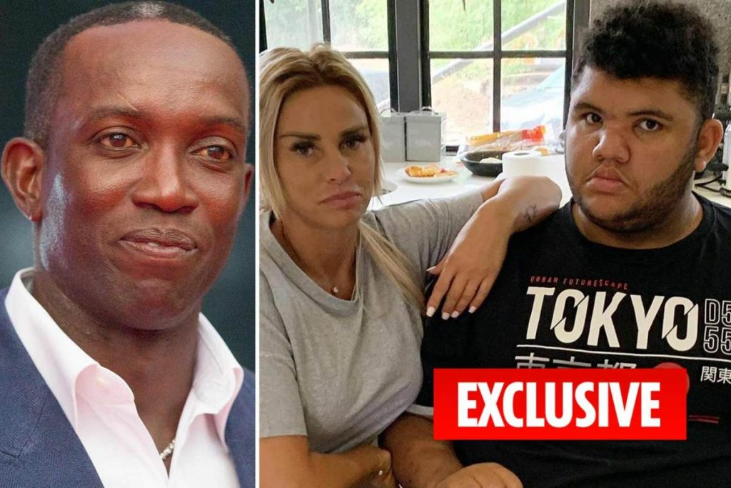 katie price,dwight yorke