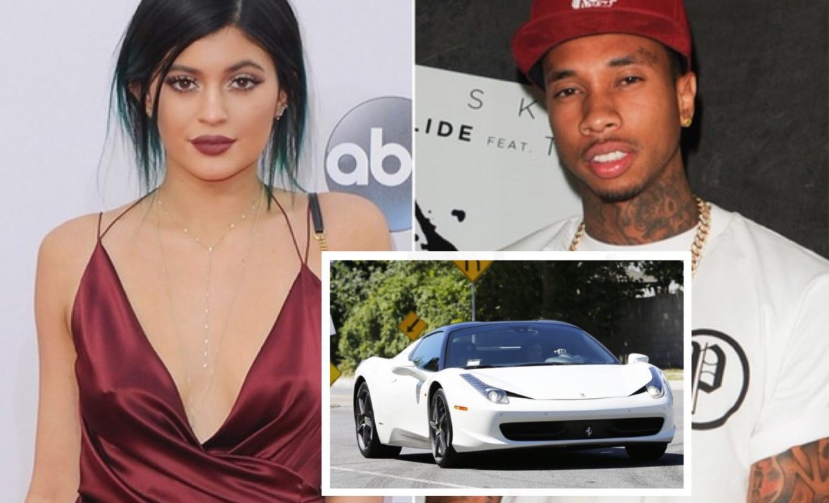 Kylie Jenner Dumps Tyga After He Sells Her Ferrari For Child Support Money While She Was In Australia