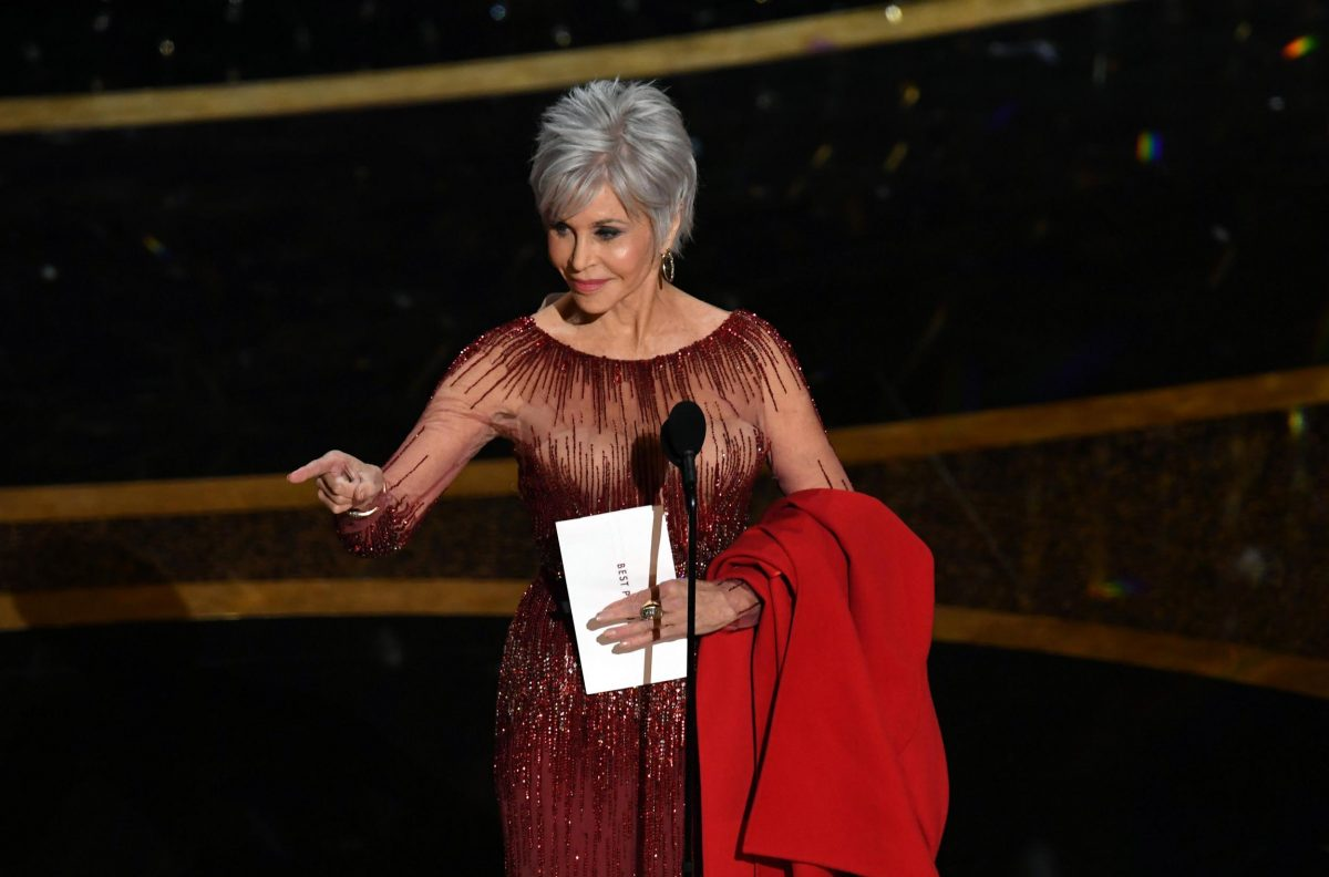 Oscars 2020: Jane Fonda recycles six-year-old gown following declaration that she will no longer buy new clothes | The Independent