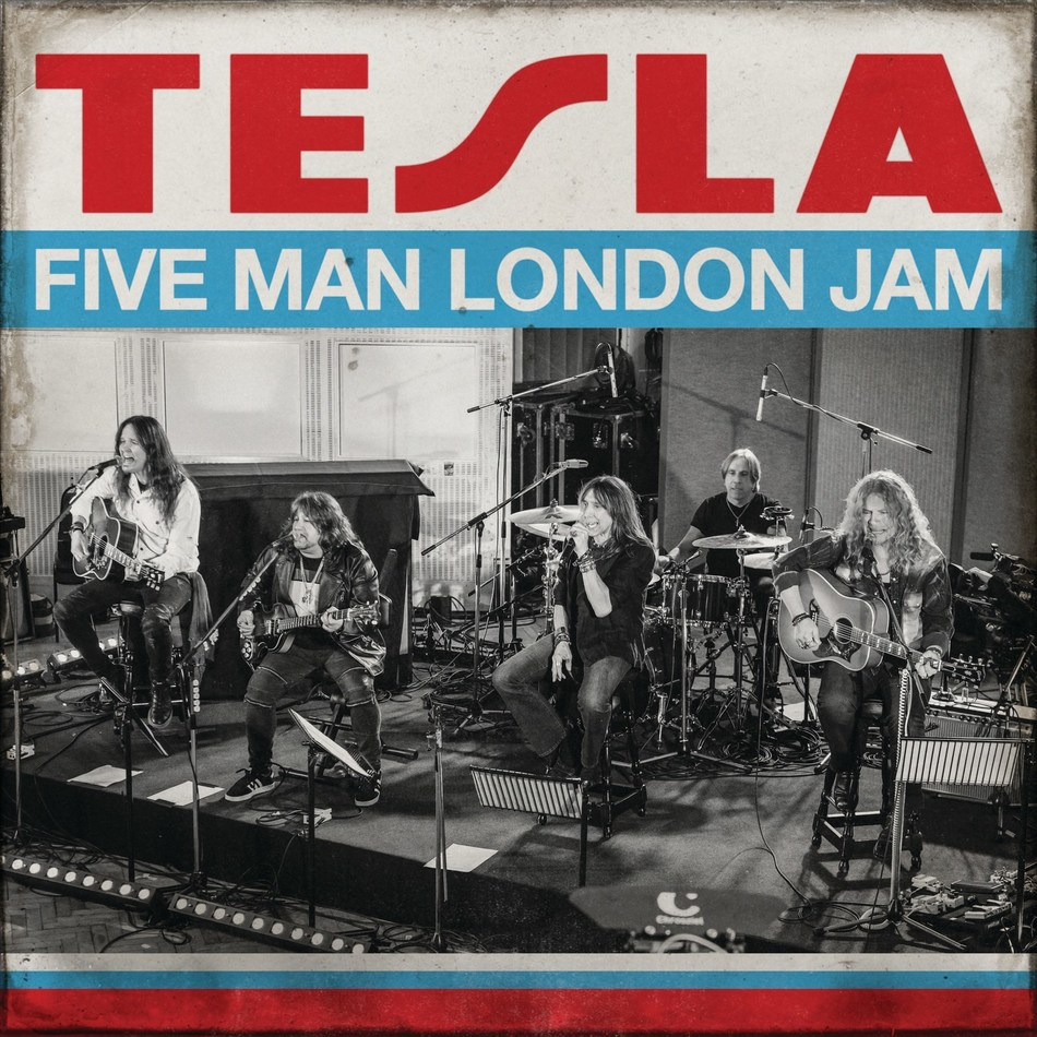 TESLA Announces New Album, 'Five Man London Jam,' For Global CD, Digital & Vinyl Release On March 27 See TESLA on Tour Around the US Throughout 2020