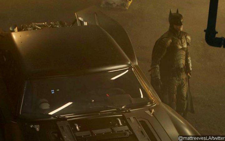 New 'The Batman' Official Set Photos Unveil Robert Pattinson's Vintage Batmobile