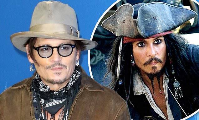 Johnny Depp may reprise role as for sixth Pirates Of The Caribbean film | Daily Mail Online