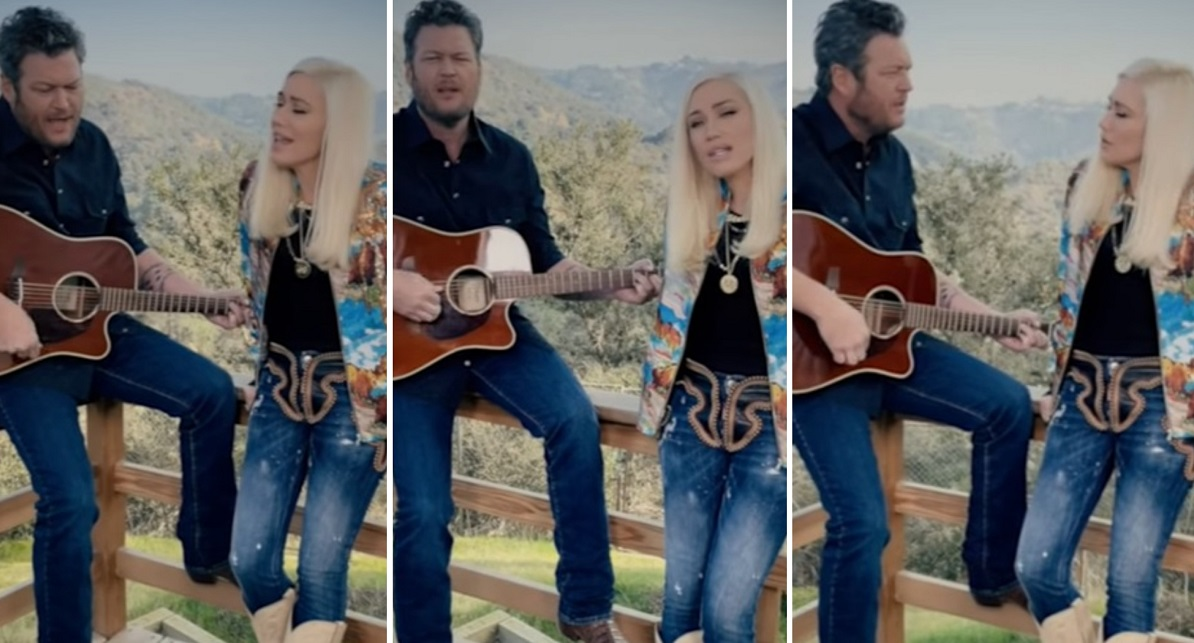 Blake Shelton and Gwen Stefani Share Acoustic Version Of 'Nobody But You' – Country Now