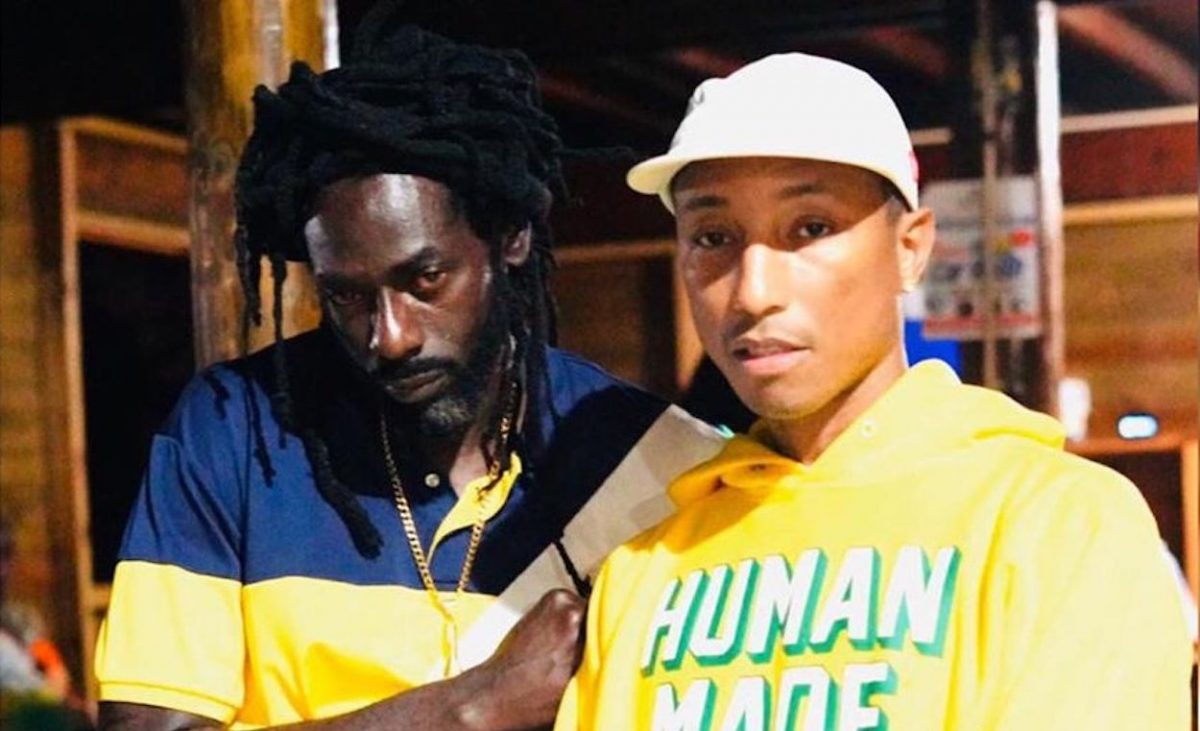 Pharrell Williams Recording New Music With Buju Banton In Jamaica – Urban Islandz