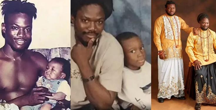 Daddy Showkey celebrates his son as he turns 23 (Photos)