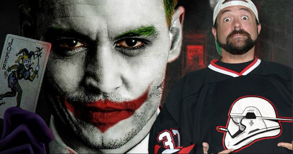 Johnny Depp Is Perfect for Joker in The Batman Says Kevin Smith