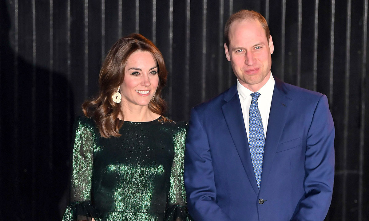 Kate Middleton stuns royal fans in a metallic green dress at a bar in Ireland | HELLO!