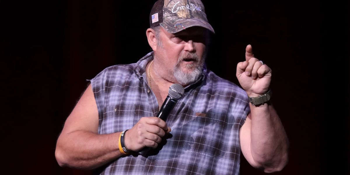Larry the Cable Guy destroys Hollywood celebrities over viral video of them singing 'Imagine'