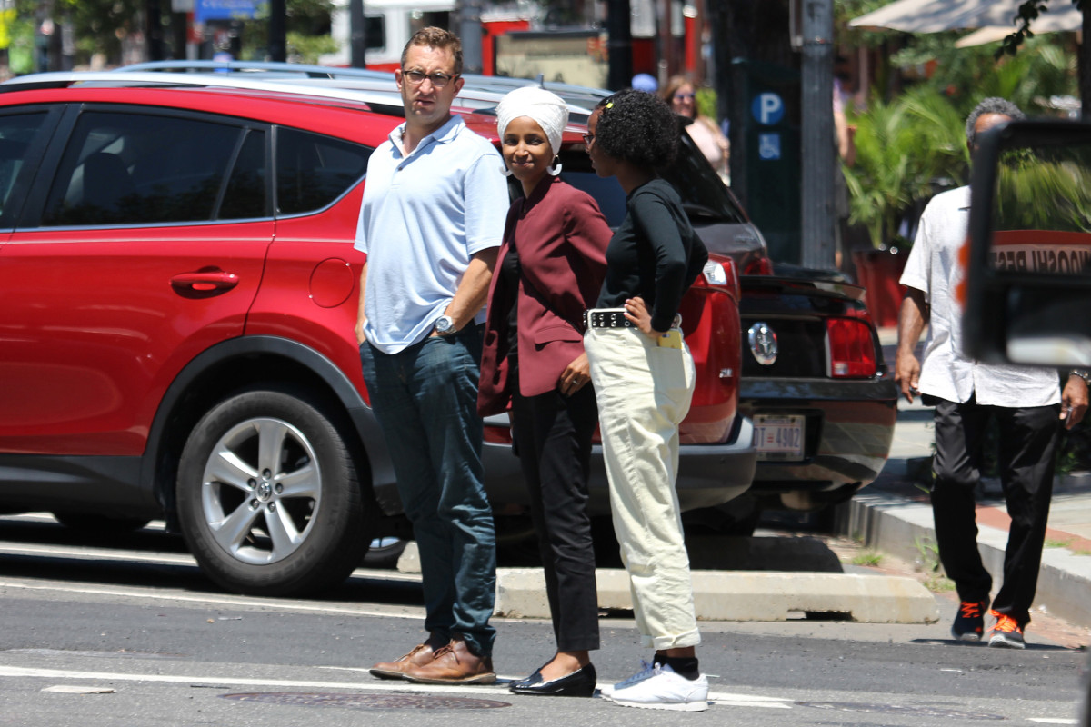 Ilhan Omar spotted with alleged lover Tim Mynett months after denying affair