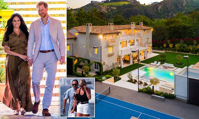 How Prince Harry and Meghan Markle could live out Diana's California dream | Daily Mail Online