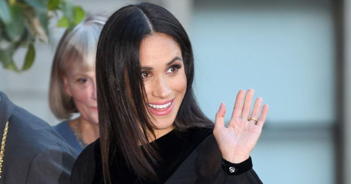 Meghan Markle Appears On Good Morning America To Speak About Narrating Disneynature's Elephant Documentary