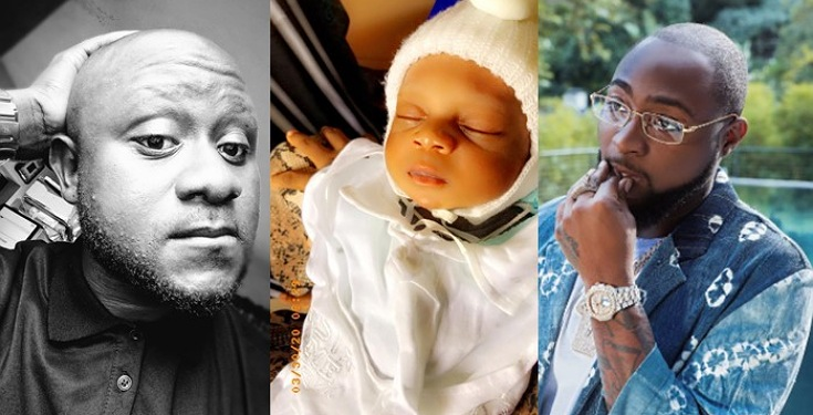 """Show me proof and I'll make ur life a living proof that OBO DEY"" – Davido promises fan who said he named his newborn baby David because of him"