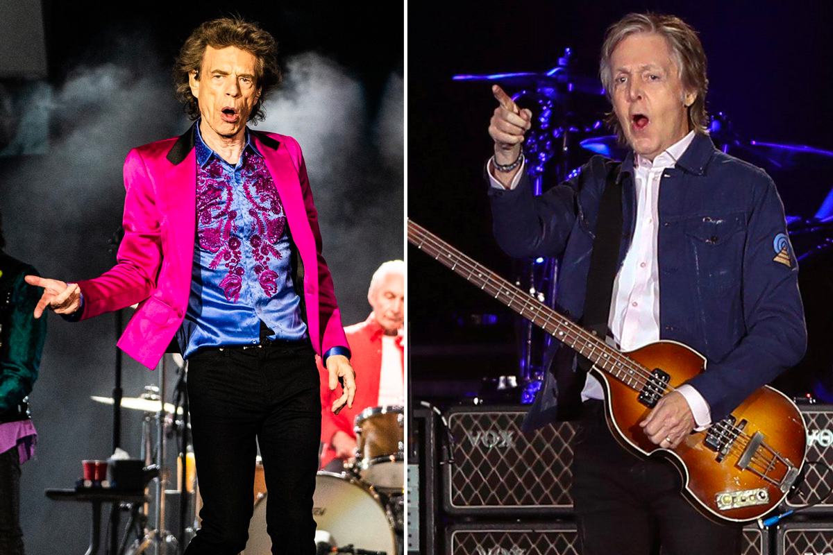 Mick Jagger Responds to Paul McCartney's 'Beatles Were Better' Claim – Rolling Stone