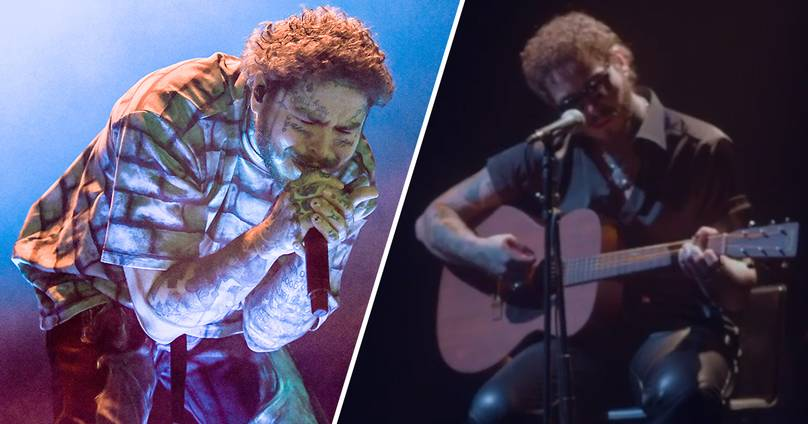 Post Malone's First Livestream Concert Will Be Nirvana Tribute Set – UNILAD