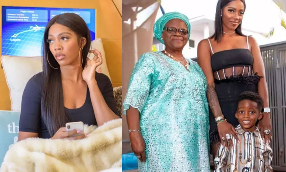 See Photos Of Tiwa Savage's Mother Who Was Once Accused Of Witchcraft