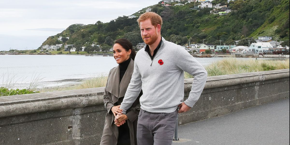 Prince Harry and Meghan Markle Spotted Wearing Masks in L.A.