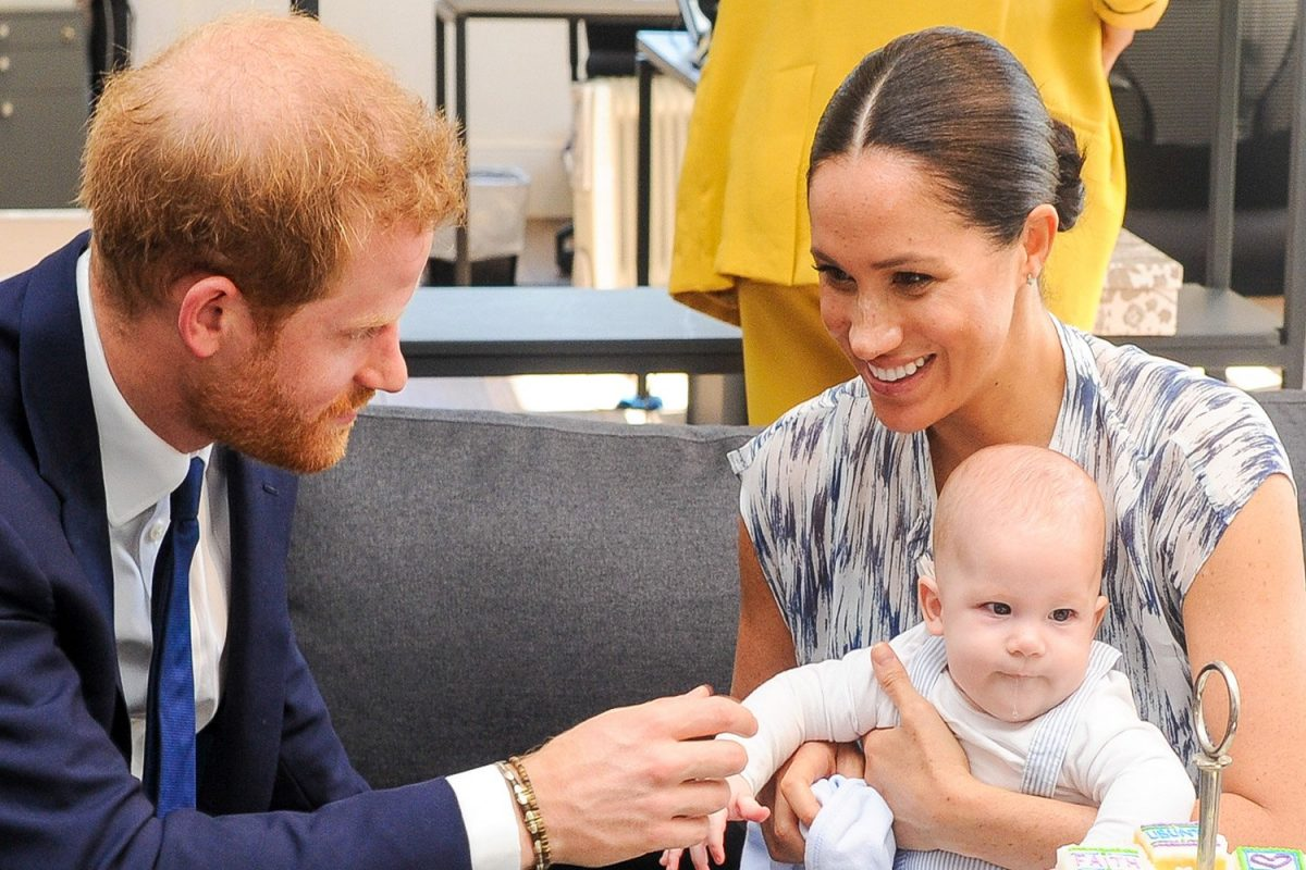 Harry and Meghan will release new photo of Archie to mark his first birthday  |  Entertainment Daily
