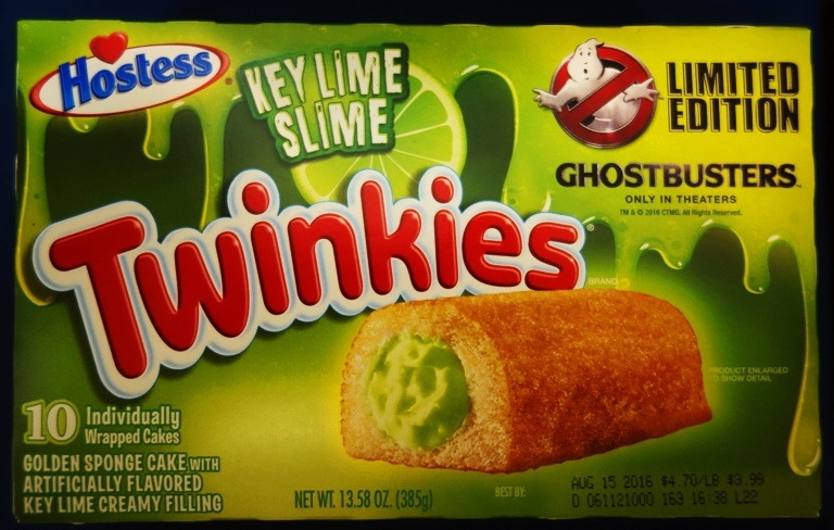 Key Lime Slime Twinkies | Braman's Wanderings