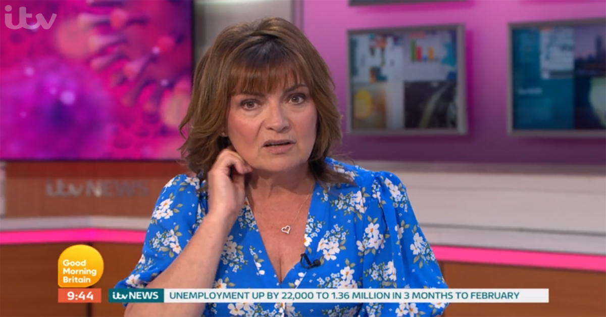 Lorraine Kelly takes aim at 'irrelevant' Meghan Markle and Prince Harry  |  Entertainment Daily