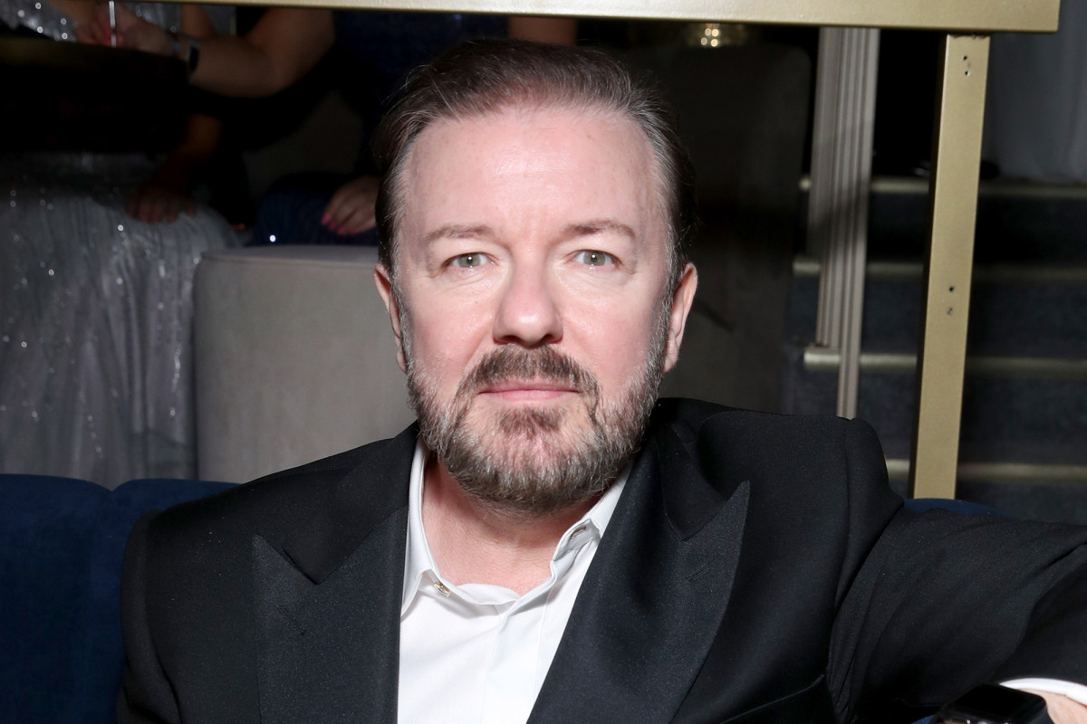 Ricky Gervais attacks celebs whining about coronavirus isolation