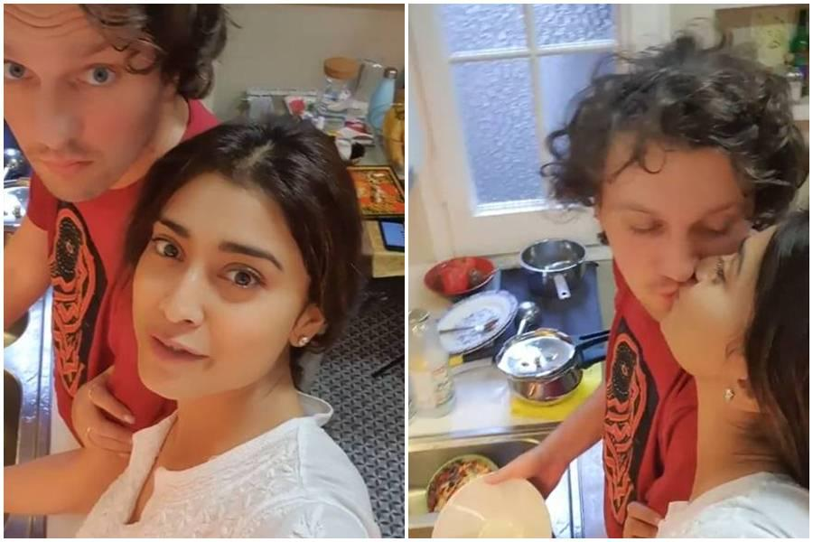 Shriya Saran reveals shocking reasons for marrying Andrei Koscheev and challenges Allu Arjun, Arya – IBTimes India
