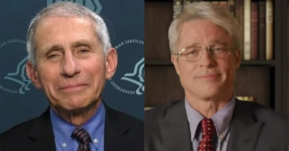 "Dr. Fauci thinks Brad Pitt ""did great"" impersonating him on ""Saturday Night Live"" – CBS News"