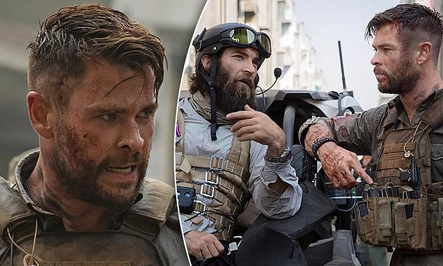 Chris Hemsworth's latest film Extraction is set to be a Netflix blockbuster | Daily Mail Online
