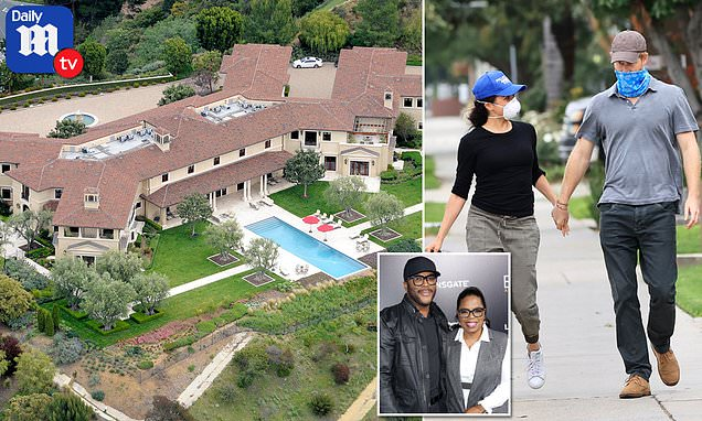 Meghan and Harry are living in Tyler Perry's $18 million hilltop mansion in Beverly Hills | Daily Mail Online
