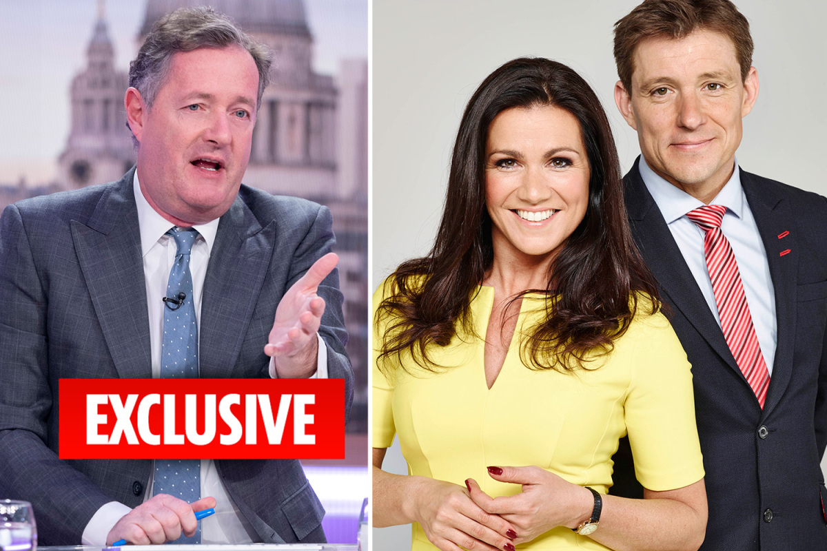 Good Morning Britain's Ben Shephard will take Piers Morgan's place amid coronavirus fears