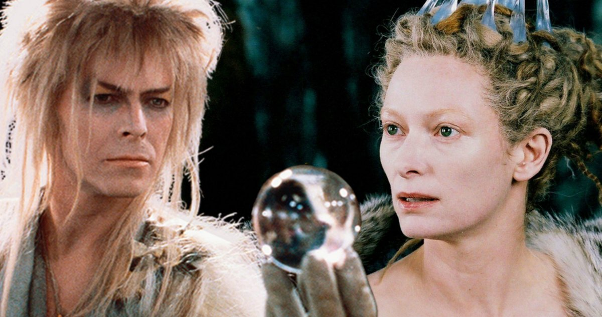 Labyrinth Fans Want Tilda Swinton to Replace David Bowie as Jareth in Labyrinth 2