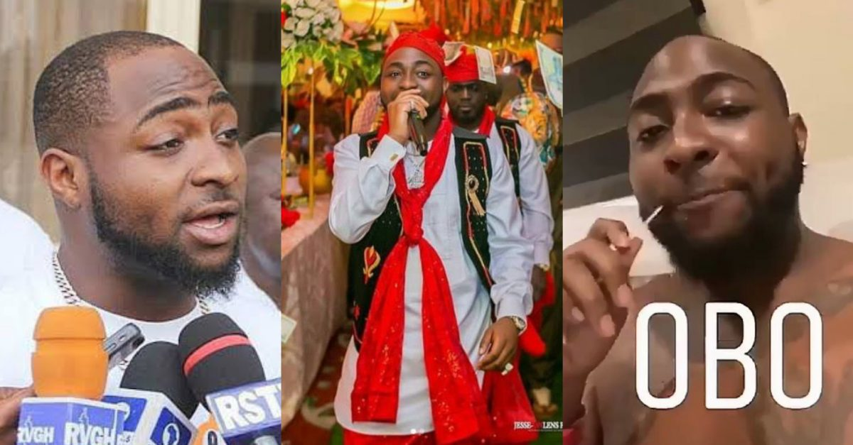 """I prefer to be called OBO, not Odogwu"" – Davido (video) – AkPraise"