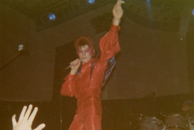 David Bowie at the Music Hall as you've never seen him before… in colour – Evening Express