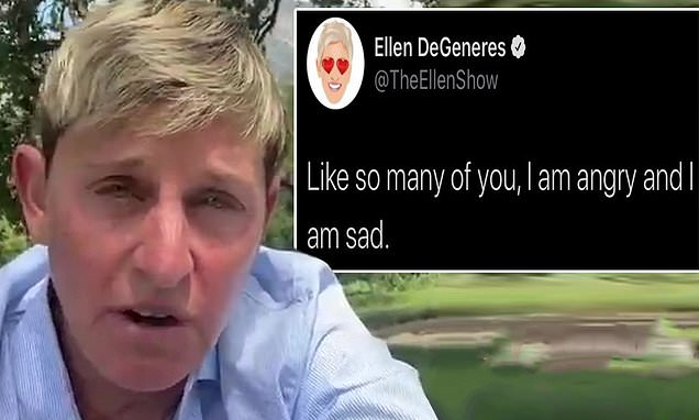 Ellen DeGeneres is receiving backlash for a since-deleted tweet using the term 'people of color' | Daily Mail Online