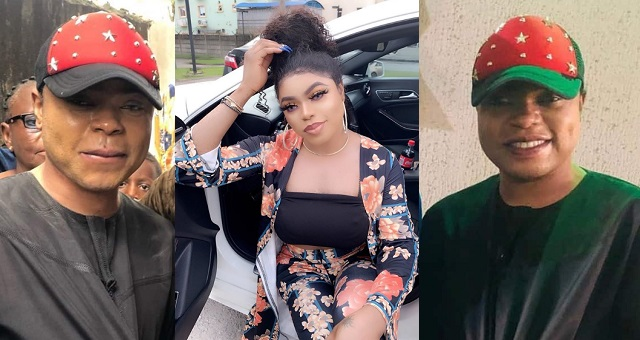 """""""I respect my family"""" – Bobrisky reveals why she dressed like a man to his father's birthday party – YabaLeftOnline"""