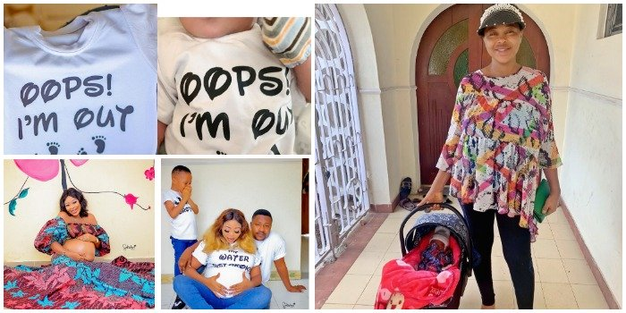 """""""Mummy Boys"""" – Yoruba actress, Wunmi Ajiboye makes first appearance since child birth, shares new picture of her new baby (PICS) – Madailygist"""