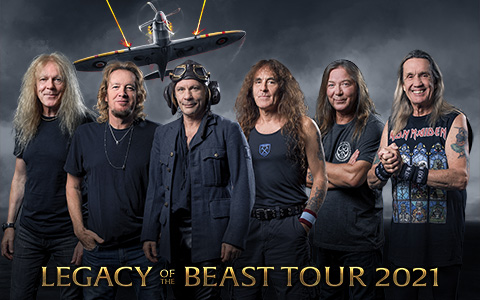 LEGACY OF THE BEAST TOURING UPDATE 2020/21