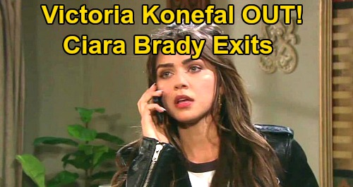 Days of Our Lives Spoilers: Victoria Konefal OUT as Ciara Brady – Another Shocking DOOL Exit Ahead | Celeb Dirty Laundry