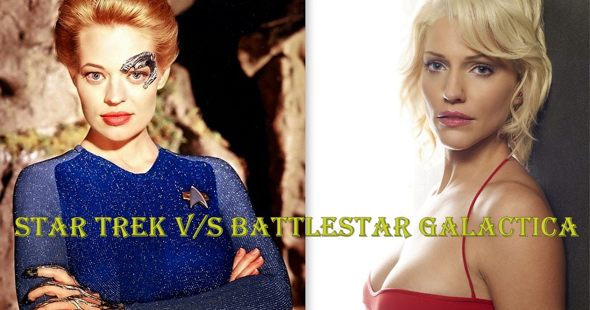 4 Reasons Why New Battlestar Galactica Is Superior To Star Trek | VFX Specialists