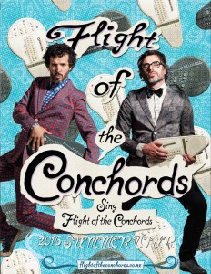 "Announcing ""Flight of the Conchords Sing Flight of the Conchords"" Summer Tour"